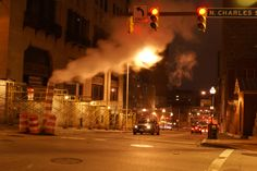 City street Baltimore, MD
