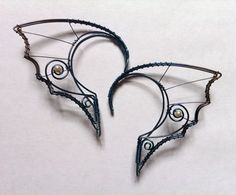 Hypoallergenic niobium hair-friendly elf ears