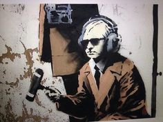 Assange featured in the new, Banksy near