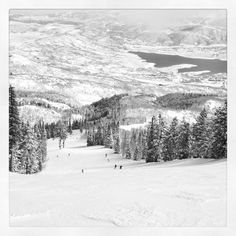 Tycoon Ski run, Deer Valley UT