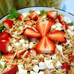 Strawberry and Feta Salad Allrecipes.com