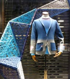 www.retailstorewindows.com: John Smedley, London