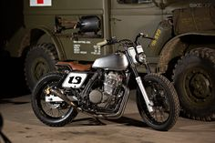 NX650 custom motorcycle