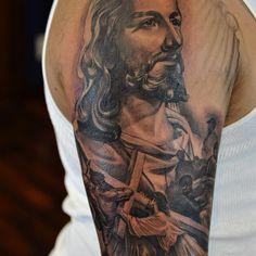Jesus portrait by Abey Alvarez 2014