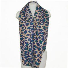 b48d7e331df Foulard tube imprimé léopard -  foulard  mode  tendance  fashion  milenamoda  milena-moda.com
