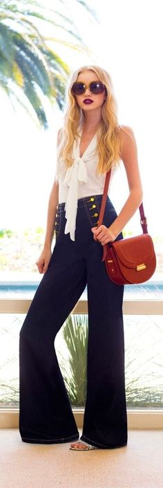 Nautiluxe: How to Wear Sailor Pants!