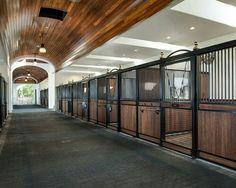 Fancy stables
