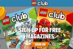 LEGO Club Free 2-Year Subscription to LEGO Club Jr. Magazines - US