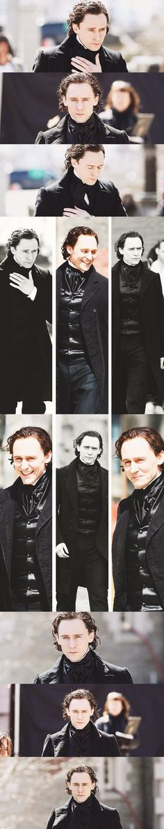 """Tom Hiddleston """"Crimson Peak"""" Toronto 17.4.2014 Nice HQ images photoshopped further by me From http://pixy456.tumblr.com/post/83659303943 and http://warheart-loki.tumblr.com/post/83645372252/tom-hiddleston-crimson-peak-on-set"""