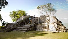 Visit the Mayan sites of Quirigua, Mayflower, and Lubaantun on Day 3.