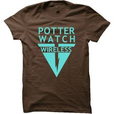 Potterwatch Wireless Harry Potter T-Shirt