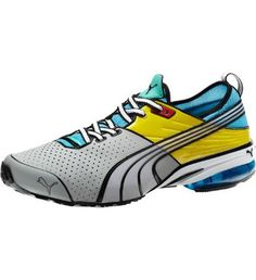 Puma - Toori Run C Running Shoes Inspired by comic books and the bright lights of Tokyo, the Toori Run makes a bold statement in even bolder colors.