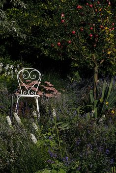 sweet garden chair