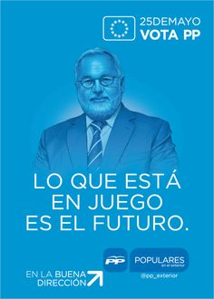 Cartel Electoral Europeas 2014 del PP (Spain)