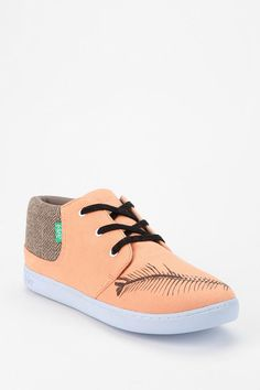 KEEP X Bon Iver Herringbone Lace-Up Sneaker #urbanoutfitters