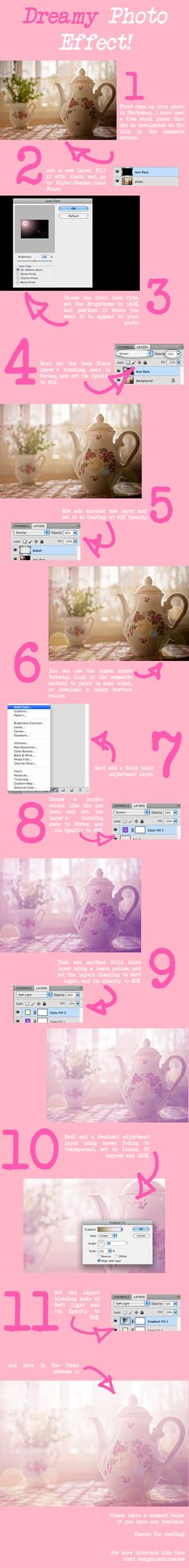 Dreamy Photo Effect Tutorial by *Planet37 on deviantART