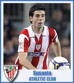 Markel Susaeta Athletic Club de Bilbao Midfield
