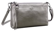 New Trending Clutch Bags: SAIERLONG HAD Womens Retro Silver Genuine Leather Small Clutch Shoulder Bag Diagonal Package. SAIERLONG HAD Women's Retro Silver Genuine Leather Small Clutch Shoulder Bag Diagonal Package  Special Offer: $36.49  300 Reviews Welcome to SAIERLONG Amazon store. If you have any questions, feel free to tell me, I'll do my best to help you. Size or Fit Issues: The sizes...