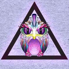 'owl, triangle' (illustrator unknown)