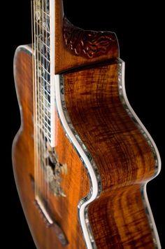 12 string acoustic guitar made by Minarik Guitars