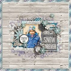 Sweet Shoppe Designs::Shop by DESIGNER::Kristin Cronin-Barrow::Winter Blues: Kit by Kristin Cronin-Barrow