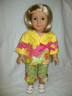 American Girl Doll Clothes  18 inch doll outfit  by ASewSewShop, $14.99