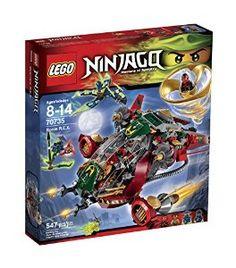 Amazon.com: LEGO Ninjago 70735 Ronin R.E.X. Ninja Building Kit: Toys & Games
