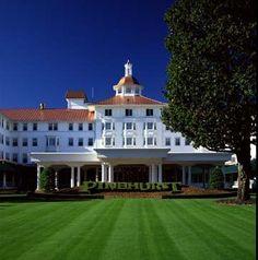 Pinehurst Resort.  Pinehurst, North Carolina