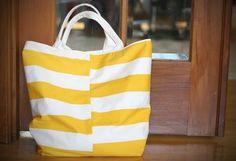 DIY: MAKING A BEACH TOTE BAG