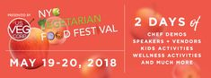 NYC Vegetarian Food Festival 2018