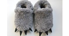 Etsy find of the day – baby wolf slippers