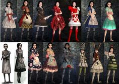 Alice madness returns. My fav. dress is hysteria (the 1st one) what's yours? :)