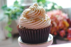 Apple Pie Cupcakes Recipe - my granddaughter, Olivia, will LOVE these cupcakes!