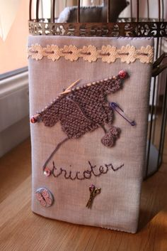 Carnet Je tricote