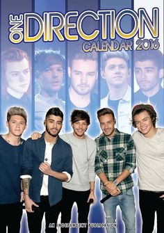 calendrier one direction 2016