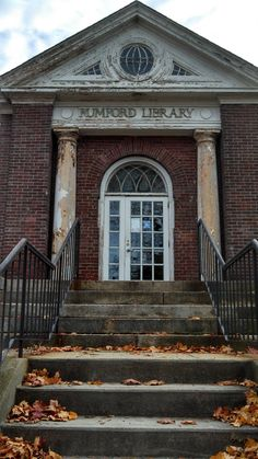 Abandoned Historic Library in East Providence, RI