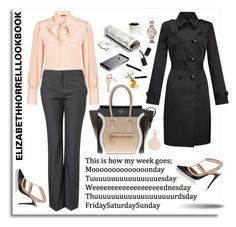 My Wardrobe Adventures! by elizabethhorrell on Polyvore featuring Alexander McQueen, John Lewis, Valentino, CÉLINE, FOSSIL, Sigma Beauty and Maryam Keyhani