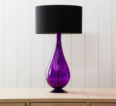 Purple lamp base love this.  I could design a whole room around this one item. :0)