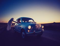 fiat 500  wedding reportage  www.andreantohifotografia.com