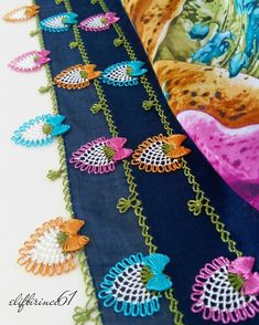 İgne oyası yazma modelleri Crochet Borders, Needle Lace, Needlepoint, Diy Crafts, Pattern, Batu, Fashion, Craft, Ideas