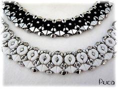Tutoriels, Schéma collier Josie est une création orginale de PUCA sur DaWanda