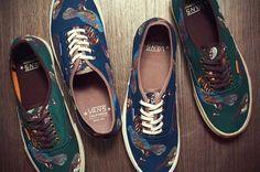 The Vans Birds Shoe Collection Presents High-Flying Folksy Fashion #fashion trendhunter.com omggggggg I waaaaaaaaaaant!!!!