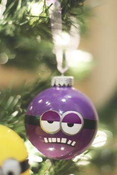 diy minion ornaments - Minions Christmas Decorations