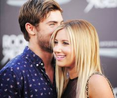 Zac Efron. Ashley Tisdale.