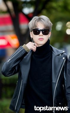 Jimin ❤ BTS Music Bank Arrival #BTS #방탄소년단