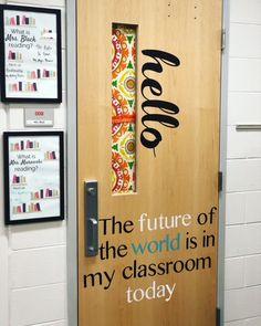 Super Ideas For Classroom Door Decorations Ideas Middle School 4th Grade Classroom, Middle School Classroom, English Classroom, New Classroom, Classroom Posters, Classroom Design, Kindergarten Classroom, Classroom Themes, Science Classroom