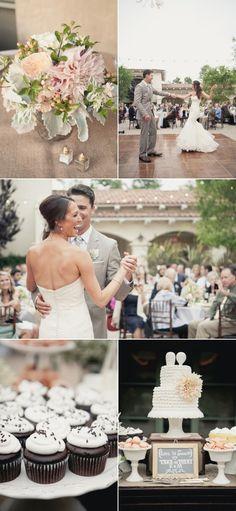 San Juan Capistrano Wedding at Serra Plaza from onelove photography | Style Me Pretty
