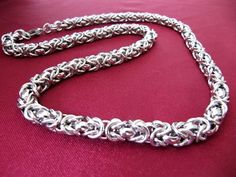 316L Stainless Steel Chain Necklace Chain Mail Link 8mm 316 Stainless Steel, Stainless Steel Necklace, Chain Mail, Necklace Chain, Chains, Diamond, Link, Bracelets, Silver