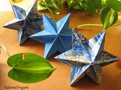 Tutorial on Origami Dominanta Star designed by Ekaterina Lukasheva . This Liberty Origami Star is easy an. Origami Mouse, Origami Fish, Origami Paper, Origami Folding, Paper Folding, Origami Instructions, Origami Tutorial, Christmas Origami, Christmas Crafts