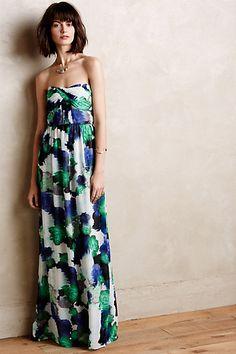 Greenrose Maxi Dress - anthropologie.com #anthrofave